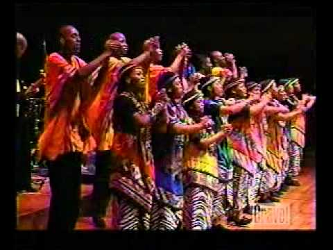Soweto Gospel Choir Blessed in Concert: Ahuna Ya Tswanang Le Jesu / Kammatla