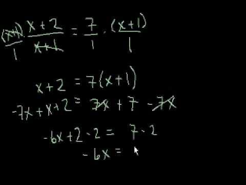 Equazioni Lineari Livello 4