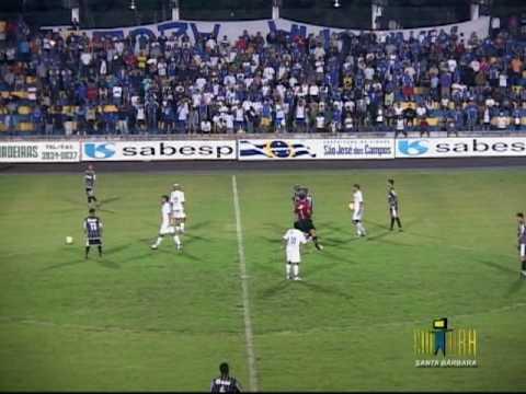 São José 2x1 União Barbarense - Paulista A2 2010