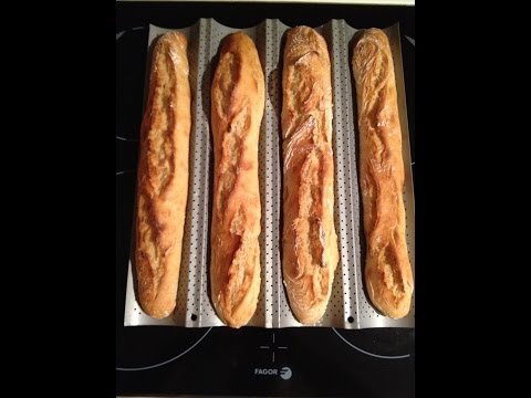 Recette de baguette maison homemade french baguette recipe for Baguette de pain maison