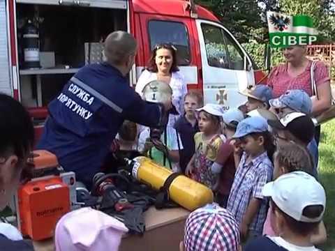 Діти спробували себе у ролі рятувальників. ВІДЕО
