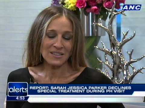 Sarah Jessica Parker declines special treatment during PH visit
