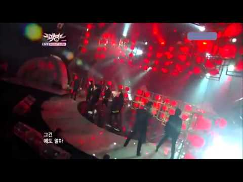 110805 Super Junior- Mr Simple Comeback stage @Music Bank Aug 2011 Eng Sub