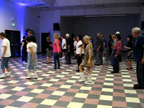 Ghost Train Line Dance - Spring Valley Lake Boot Scootin' Boogie Night Away