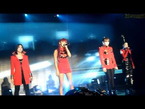 2NE1 at MTV IGGY Concert - Fire, Can't Nobody, Lonely, I Am The Best (fancam)