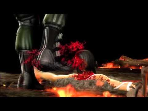 Mortal Kombat (2011): All Fatalities On Fleash Pits Mileena (including bosses and DLC Characters)