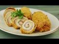 Куриные рулетики с сыром - Рецепты от Со Вкусом
