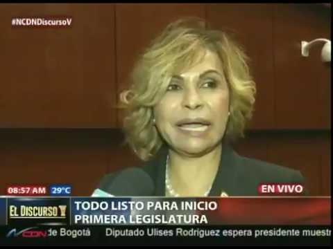 """La senadora por Dajabón, Sonia Mateo, aseguró este lunes que ella no posee cuentas bancarias, debido a que  no tiene dinero. """"Yo no tengo  dinero"""", dijo la legisladora al ser abordada por la periodista Claudia Rodríguez, periodista de CDN, en el Co"""