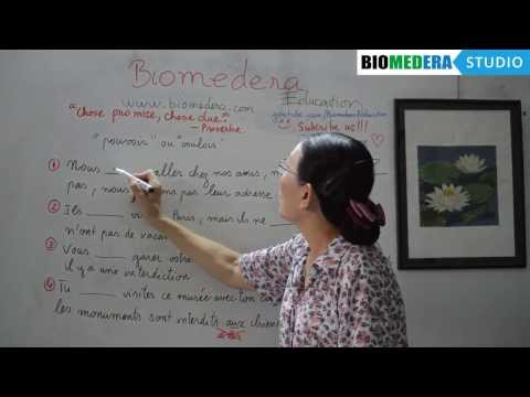 Bài 37: Bài tập vận dụng động từ tiếng Pháp pouvoir và vouloir