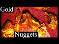 GOLD NUGGETS FOUND RECENTLY.(We show you how and where)