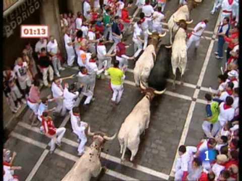 Segundo encierro de San Fermín 2009