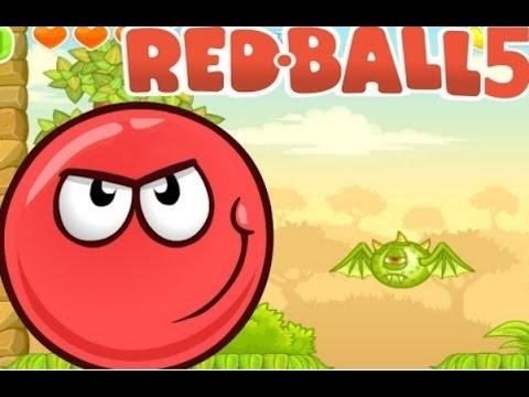 Игры красный шар 5 играть о