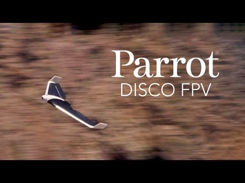 Parrot DISCO FPV - Official Video - UC8F2tpERSe3I8ZpdR4V8ung