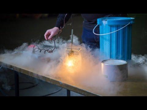 Simple Feats of Science: Liquid Nitrogen Experiments! - UCiDJtJKMICpb9B1qf7qjEOA