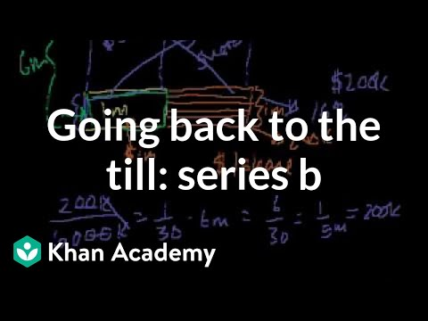 Going back to the till: Series B