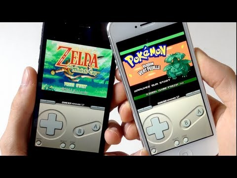 GBA4iOS - Emulateur de GameBoy Advance SANS JAILBREAK - iPhone, iPod touch, iPad iOS 5, 6, 7