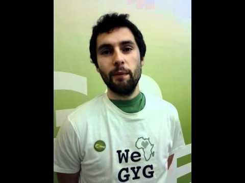 Are you in? - The 3rd GYG Congress, Dakar 2012 - Sebastian.avi