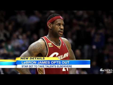 (LeBron James) Appears Headed to NBA Free Agency   6/25/14