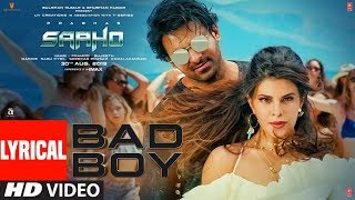 LYRICAL: Bad Boy | Saaho