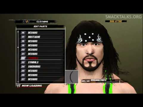 WWE '12: X-Pac CAW Formula (Dynomyte)