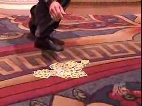 Criss Angel - Card Trick -m60DOBvuS2g