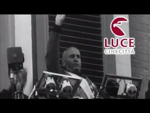 Il discorso del Duce a Bari