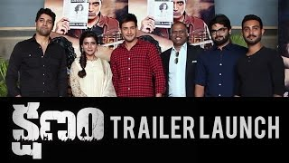 Kshanam Trailer Launch by Mahesh Babu, Samantha Ruth Prabhu