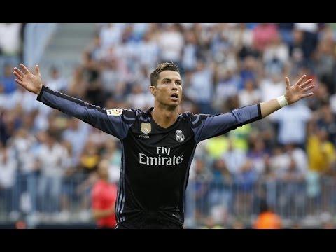 Malaga 0 Real Madrid 2 - Liga de España.