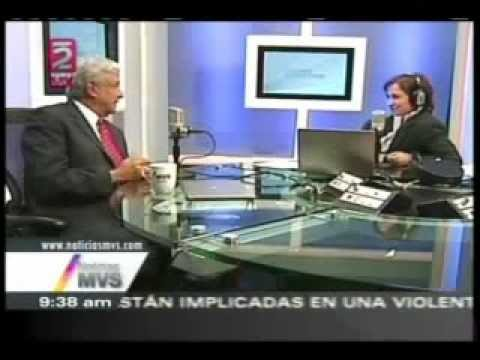 Andrs Manuel Lpez Obrador - 21/11/2012 - En MVS con Carmen Aristegui