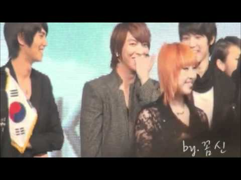 CN Blue's Yonghwa embarrassing moment with 2ne1's Park Bom
