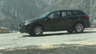 Новый Mazda CX-9 сняли на видео