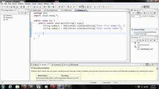 Java Gui Tutorial #1 JOptionPane