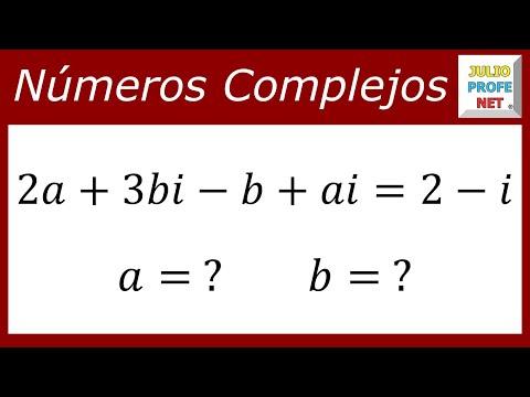 Igualdad de números complejos
