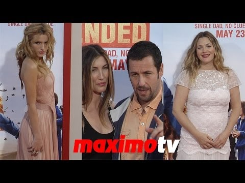 Adam Sandler, Drew Barrymore, Bella Thorne, Zendaya BLENDED Los Angeles Premiere - maximotv