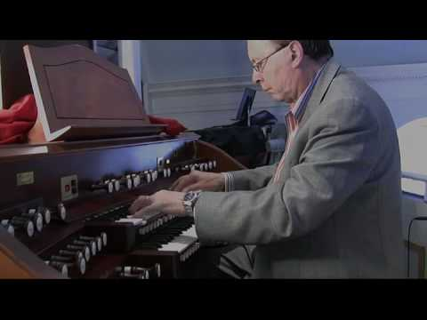 J.S. Bach Fugue in G Minor, BWV 542, Anthony Newman, Organ