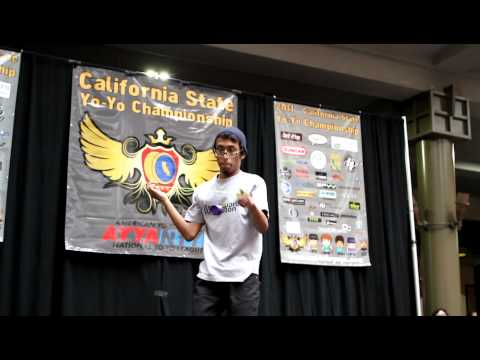 YoYoFactory Presents: Anthony Rojas California State Contest 2011 4th place