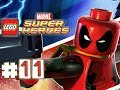 LEGO Marvel Superheroes - DEADPOOL MISSION 11- Stranger Danger (100% Completion)