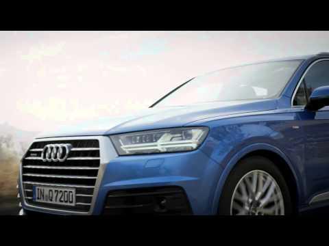 Der neue Audi Q7 - Sportlichkeit, Effizienz, Premiumkomfort