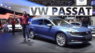 Paryż 2014 - prezentacja Volkswagena Passata