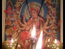 JAI AMBE GAURI AARTI FOR YOU TO DO FROM COMPUTER SCREEN OF MAA WITH REAL FLAME
