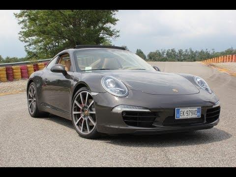 Prova Porsche 911 (991) Carrera S al test track Pirelli di Vizzola Ticino