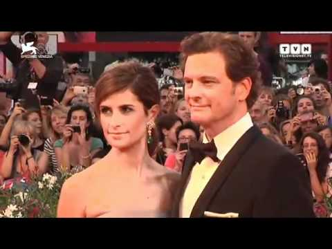 Festival di Venezia - Colin Firth sul red carpet di Tinker, Tailor, Soldier, Spy