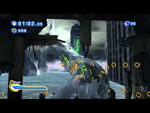 Sonic Generations Boss Battle - Perfect Chaos
