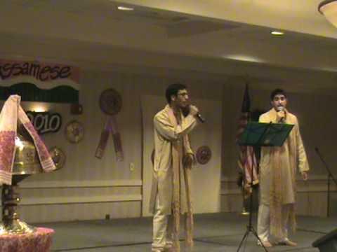 Bistirno Parore Assamese Song Dr.Bhupen Hazarika -  - live in America - Assam Asom Axom