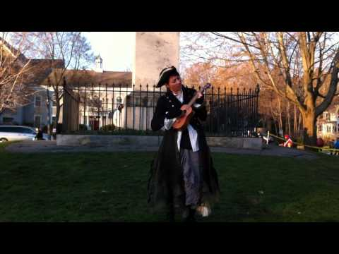 "Amanda Palmer - ""Creep"" (Radiohead Cover) Live at Lexington Battle Green, 4/18/11"