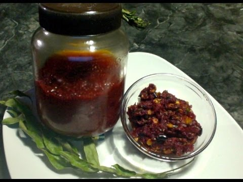 Cranberry Pickle Long term-How to use it