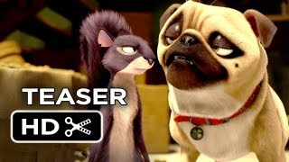 The Nut Job Official Teaser Trailer (2014) - Will Arnett Animated Movie HD
