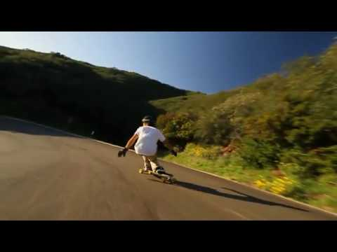 Longboarding  Let Go (Orangatang Durian Freeride Wheels)
