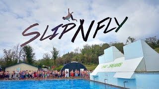 有人說跳水是世上最蠢的一種運動,不過當你試過這條極速水道,它能讓你變成超人一樣飛起來。 -