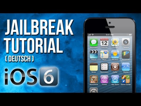 Jailbreak Tutorial für iOS 6, 6.1, 6.1.1, 6.1.2 & 6.0.1 iPhone, iPad, iPod mit evasi0n (Deutsch)